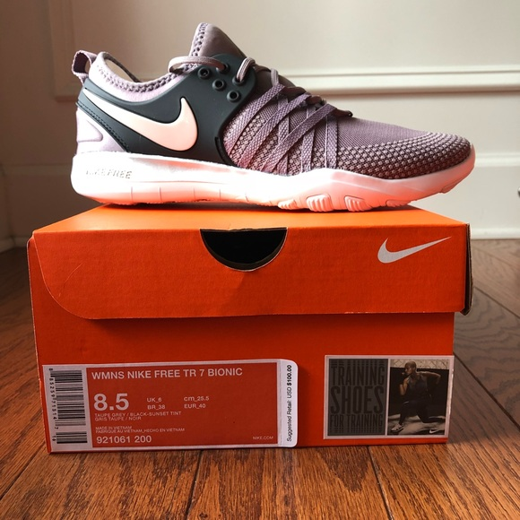 33e010cd587cd NWT Nike Free TR 7 Bionic. M 5b9ace625c445233c9e2a5c7. Other Shoes you may  like. Nike Women s Size 10.5 Grey Running Shoes